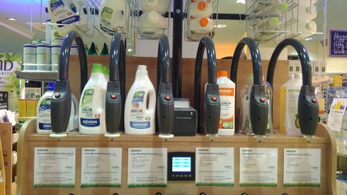 Detergents refill station Basic Bogenhausen